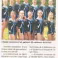 «Dernière Compétition d'une longue saison de gymnastique, le week-end dernier. La Cambronnaise de Saint-Sebastien-sur-Loire organisait le championnat national FSCF par équipe aînées et jeunesses F et F1. Pour la […]